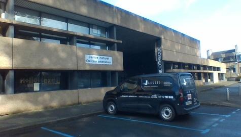 Repérage amiante avant travaux - Médiathèque - Guingamp