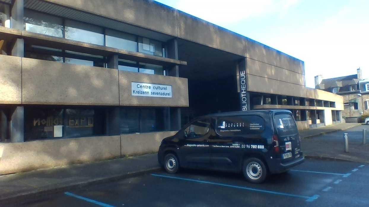 Repérage amiante avant travaux - Médiathèque - Guingamp 0